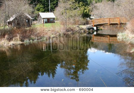 Log Cabin  Bridge