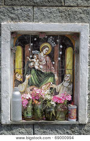 Catholic Icon At Crossroads