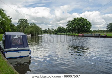River Thames at Abingdon, Oxfordshire