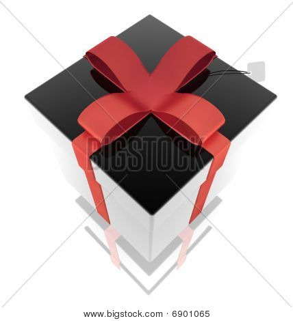 Fancy Wrapped Ribbon Present