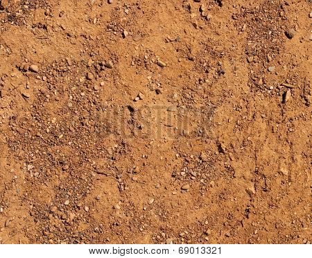 Dry Terrain Brown Soil Natural Background
