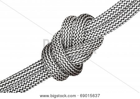 Black And White Eight Knot