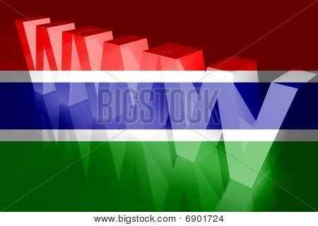 Flag Of Gambia Www Internet