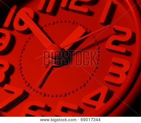 Clock Face Ticking