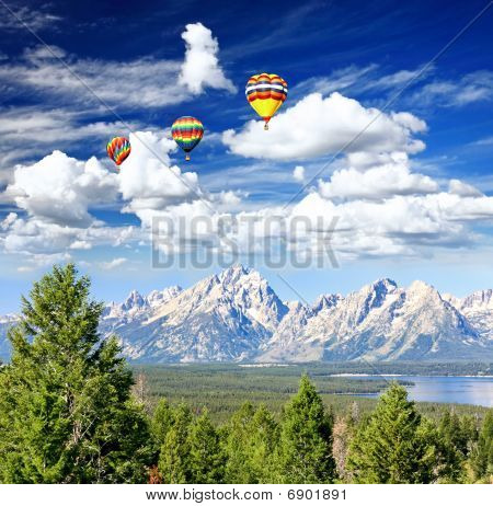 The Grand Teton National Park