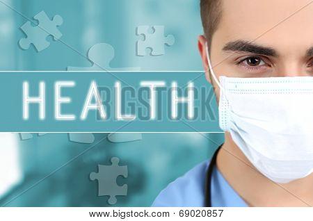 Doctor in medical mask