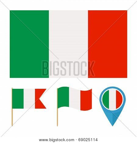 Italy ,country Flag Vector