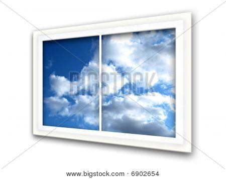Sky Window View