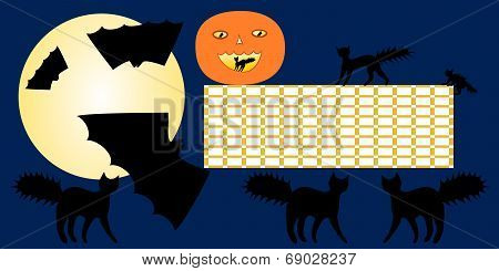 Halloween school timetable