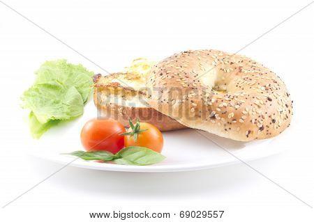 Eggs Bagel