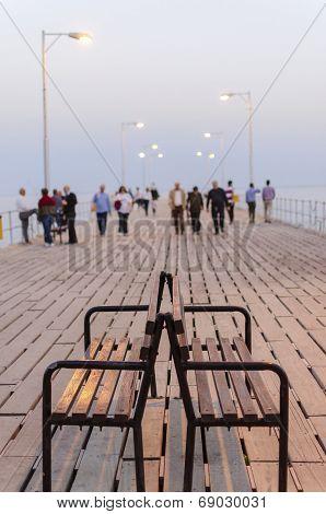 Old Port Pier, Limassol, Cyprus