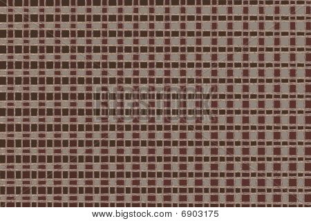 Abstract Brown Square Pattern