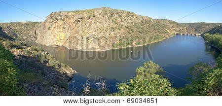 Miranda Do Douro Dam And Lake
