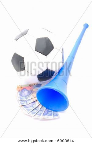Football, South African Rands, Vuvuzela