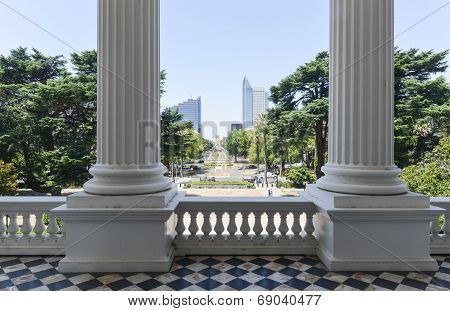 California Capitol Building View