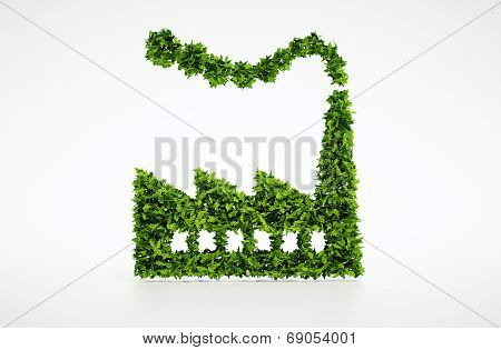 3d Ecology industry symbol