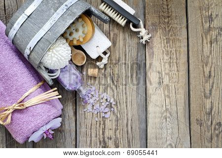 Aromatherapy spa massage tools to body care