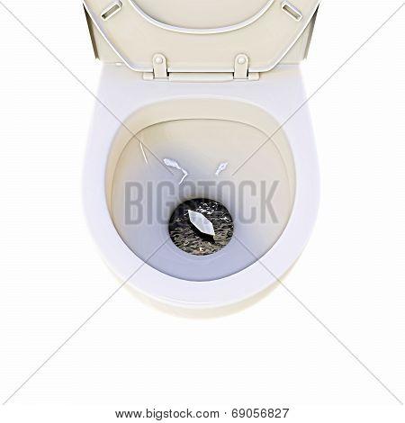 Ceramic Toilette