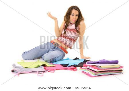 Woman And Clothes