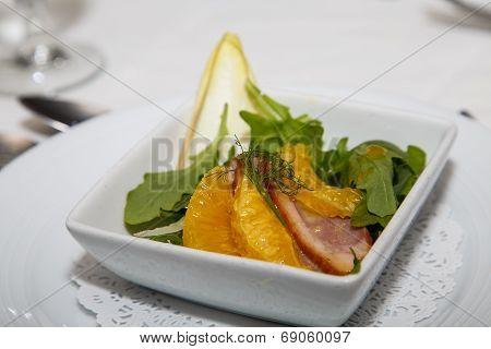 Orange And Pork Appetizer