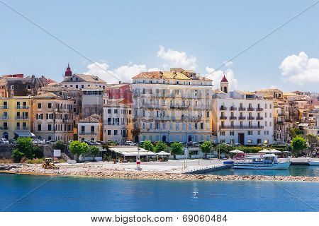 Corfu, capital town of Corfu island