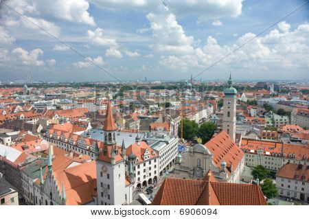 Roofs Of The Munich
