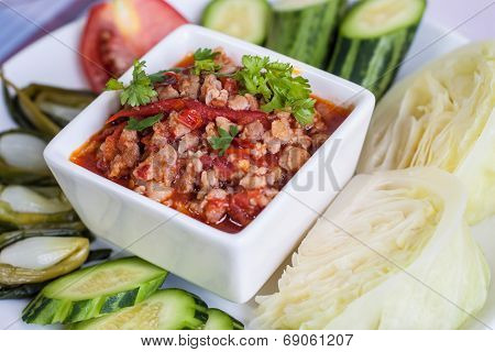 Thai Food, Chili Paste