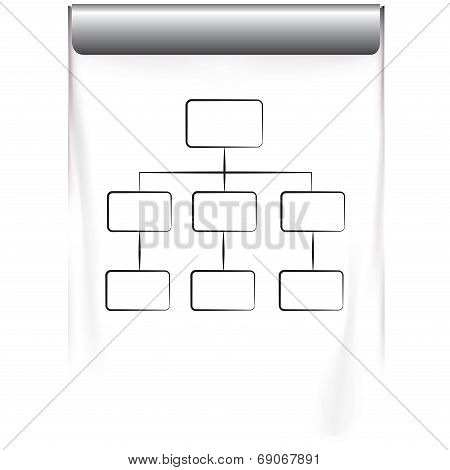 diagram projector screen