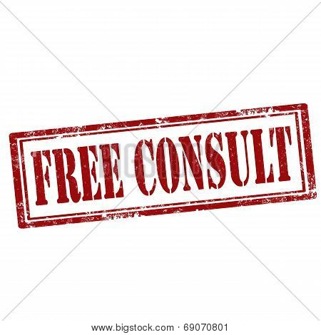 Free Consult-stamp