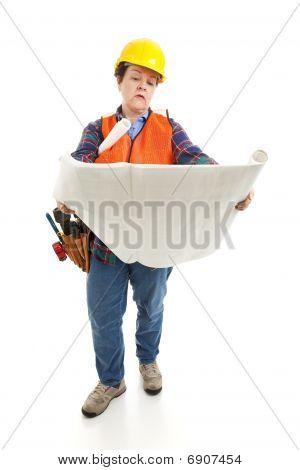 Female Builder Reading Plans