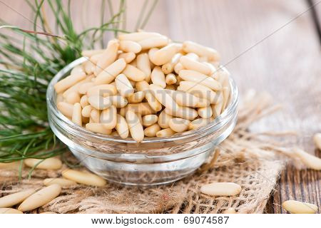 Some Fresh Pine Nuts