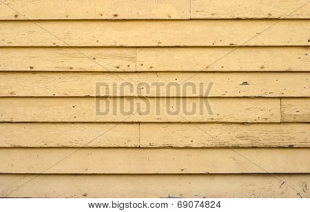 Yellow Board Wall