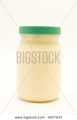 Jar Of Mayonnaise
