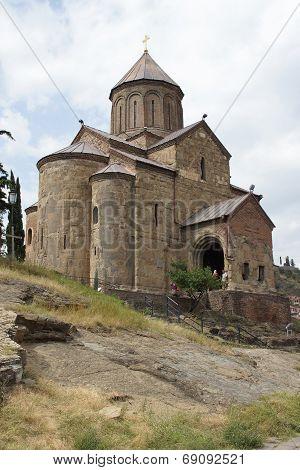 Metechi Church, Tbilisi, Georgia