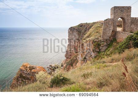 Ancient Fortress On Kaliakra Headland, Bulgarian Black Sea Coast