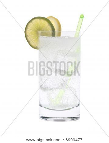 Vodka Or Gin Tonic Cocktail