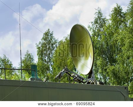 Parabolic Antenna Satellite Communications