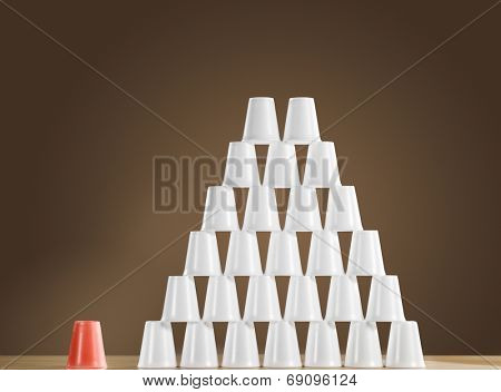 Pyramid of Cups
