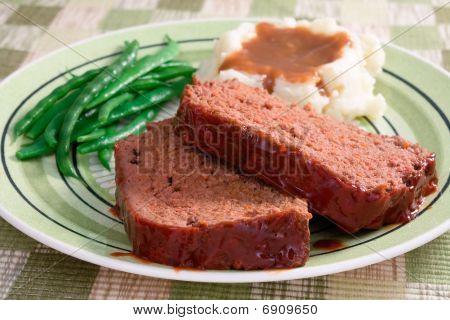 Meat Loaf Dinner