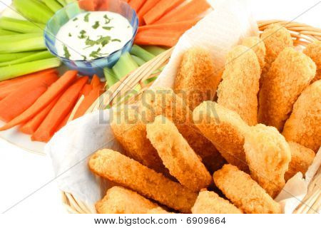 Golden Chicken Fingers