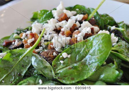 gesunde Spinat-Salat