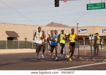 Competitors in the 2010 Phoenix Marathon