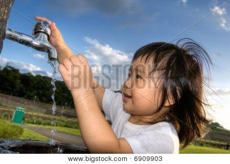Lavagem de criança