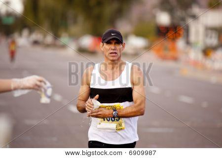 Competitor in the 2010 Phoenix Marathon