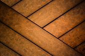 picture of wainscoting  - Dark abstract ooden panel texture or background - JPG