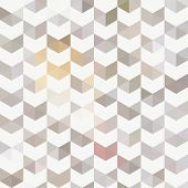 stock photo of shapes  - Retro pattern of geometric shapes - JPG