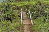 foto of natal  - Small bridge of Bushmans river in Giants Castle KwaZulu - JPG