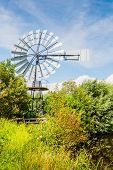 foto of water-mill  - Wind powered multi - JPG
