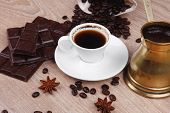 image of copper  - sweet hot drink  - JPG