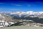 image of stratus  - Rocky Mountain National Park in Colorado USA - JPG